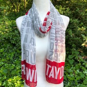 💄Taylor Swift Red Tour Scarf